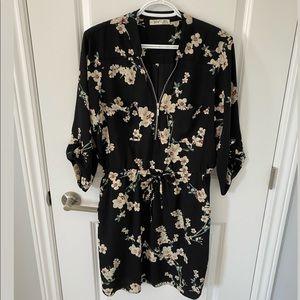 Dex Floral Print Dress